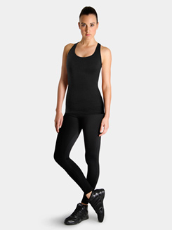 Studio Active Spandex Supplex Racer Back Tank Top