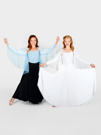 Body Wrappers Child Angel Wing Shrug