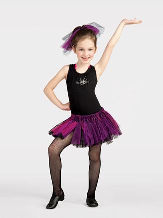 Capezio Child Rock Ballerina Knotted Tutu
