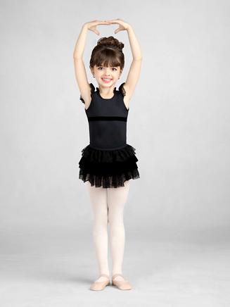 Capezio Child Prim Lace Tier Skirt