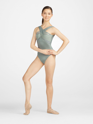 Metro Fusion Adult Cross Front Leotard - Style No 10062