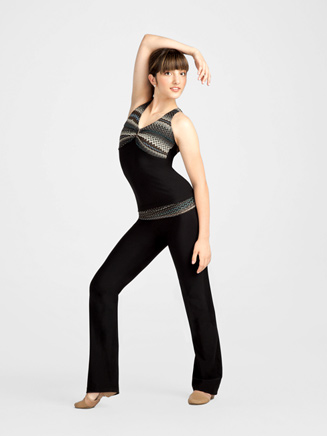 Tribalesque Adult Fold Down Jazz Pant - Style No 10077