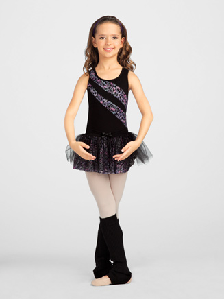 Glam Fantastique Child Racerback Leotard - Style No 10080C