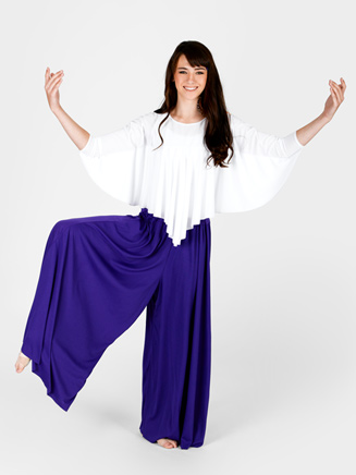Plus Size Palazzo Pant - Style No 13696P