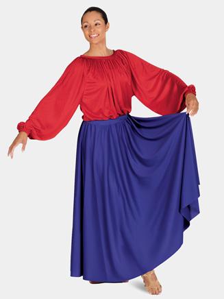 Eurotard Adult Single Panel Lyrical Circle Skirt (37 Long)