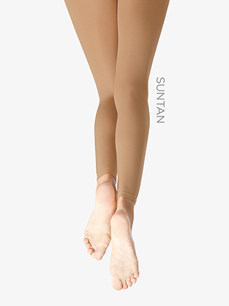 Girls Hold & Stretch Footless Dance Tight - Style No 140C