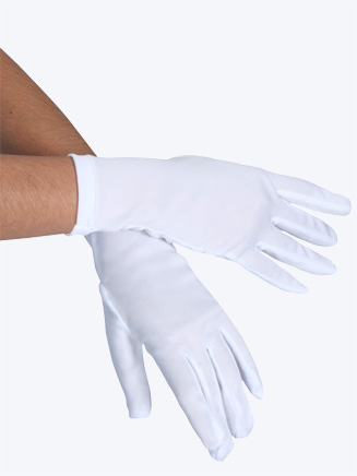 Child Short Stretch Gloves - Style No 14248