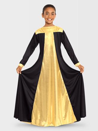 Eurotard Child Metallic Resurrection Dress