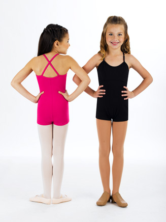 Child Shorty Camisole Leotard - Style No 1505C