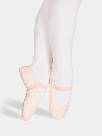 """Star Split"" Child Split-Sole Canvas Ballet Slipper - Style No 15C"