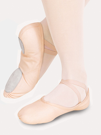 """Juliet"" Adult Split-Sole Canvas Ballet Slipper - Style No 2028"