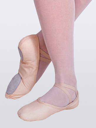"""Juliet"" Child Split-Sole Canvas Ballet Slipper - Style No 2028C"