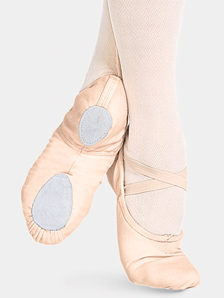 """Cobra"" Adult Split-Sole Canvas Ballet Slipper - Style No 2030"