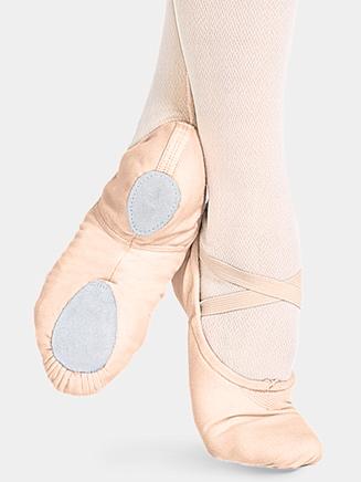 """Cobra"" Adult Split-Sole Canvas Ballet Slipper - Style No 2030"