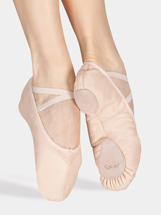 """Cobra"" Child Split-Sole Leather Ballet Slipper - Style No 2033C"