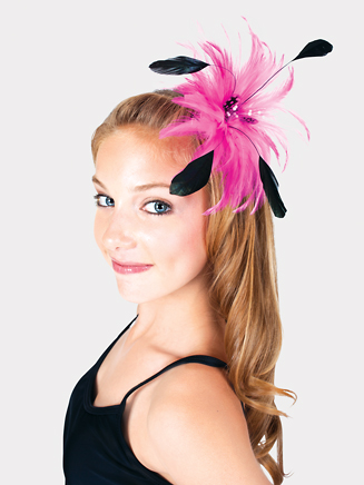 Feather Hair Clip - Style No 2336