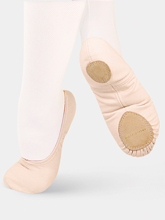 """TotalSTRETCH"" Adult Split-Sole Canvas Ballet Slipper - Style No 246A"