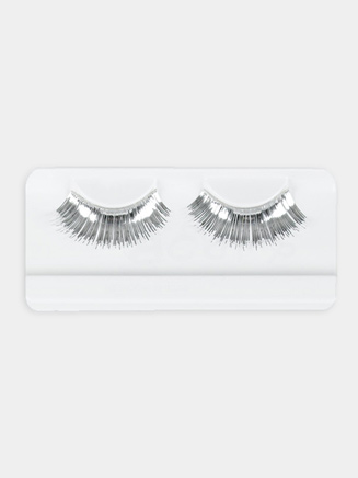 Silver Eyelashes - Style No 2483A
