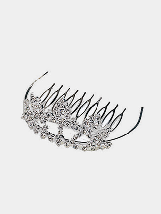 Rhinestone Mini Tiara - Style No 2726