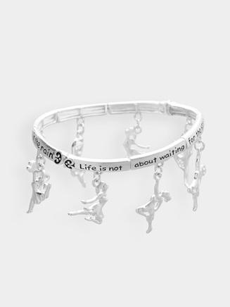 Dance Inspirational Charm Bracelet - Style No 2750