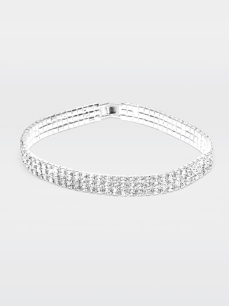 "13"" Rhinestone Elastic Choker - Style No 2792"