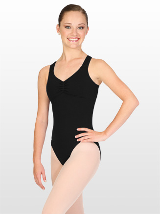 Adult Criss-cross Back Tank Dance Leotard - Style No 3067