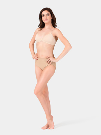 """Adult """"Shaparee"""" Padded Molded Bra with Clear Back Strap - Style No 353"""