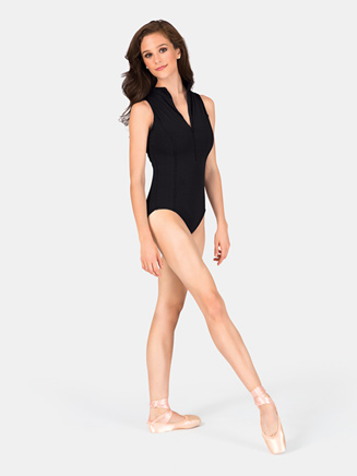 Adult Mock Turtleneck Tank Leotard - Style No 368