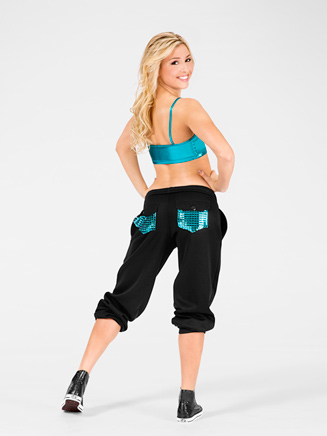 Adult Metallic Pocket Adult Sweatpant - Style No 3800SIL