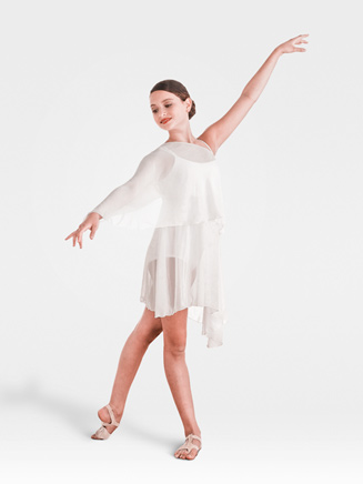 Body Wrappers Child's Asymmetrical Dress