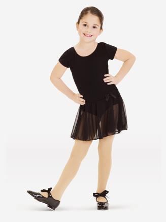 Capezio Child Short Sleeve Nylon Dress