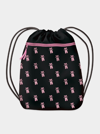 Ballet Shoes Drawstring Backpack - Style No 4327
