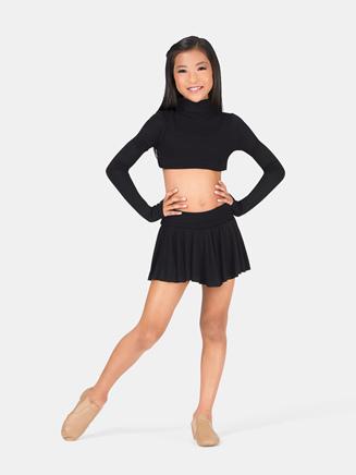 Girls Long Sleeve Convertible Shrug - Style No 4550