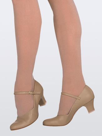 Capezio Jr. Footlight Child 1.5 Heel Character Shoe