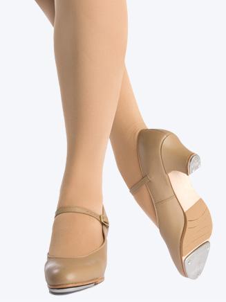 "Leather Adult ""Jr. Footlight"" 1.5"" Heel Tap Shoe - Style No 561"