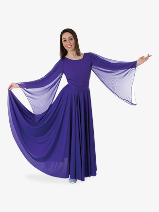 Triple Panel Liturgical Skirt - Style No 599