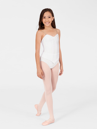 Child Camisole Corset Leotard - Style No 6076C