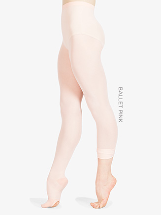Ultrasoft Microfiber Convertible Dance Tight - Style No 702