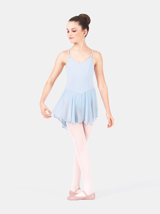 Child Trestle Back Dance Dress - Style No 7110C