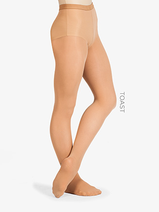 Ultrasoft Microfiber Footed Dance Tight - Style No 72