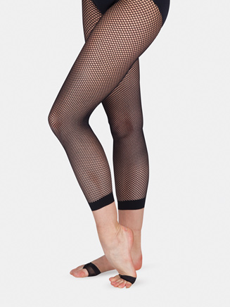Adult Fishnet Capri Dance Tight - Style No 7877BLK