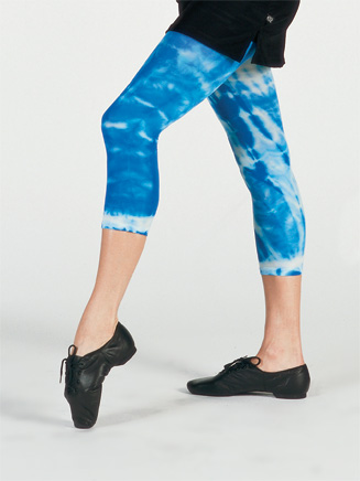 Adult Tie-Dye Capri Dance Tight - Style No 8215