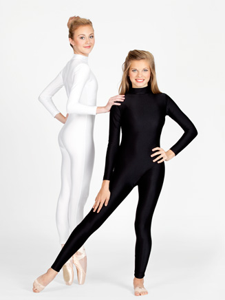 Adult Long Sleeve Mock Neck Unitard - Style No 8815