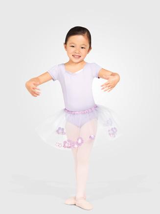 Capezio Child Pull-On Flower Skirt