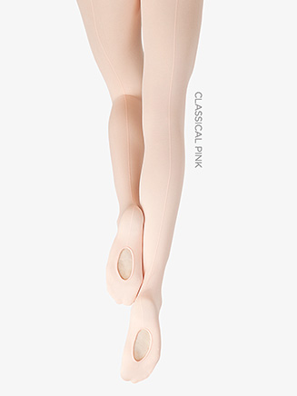 Child Seamed Professional Mesh Transition Tight - Style No 9C