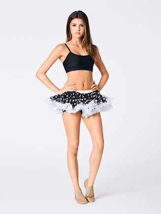 All About Dance Petticoat Tutu With Polka Dots