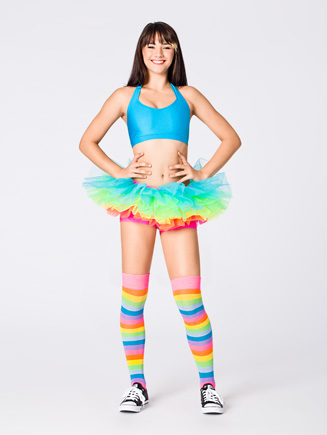 Neon Rainbow Tutu - Style No A1706