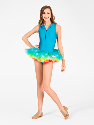 Adult Neon Rainbow Tutu with Lights - Style No A1840