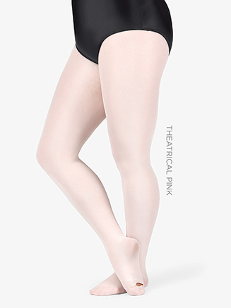 Plus Size Adult totalSTRETCH Footed Tight - Style No A31X