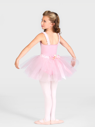 Tutu With Ruffled Waist - Style No AAD101C